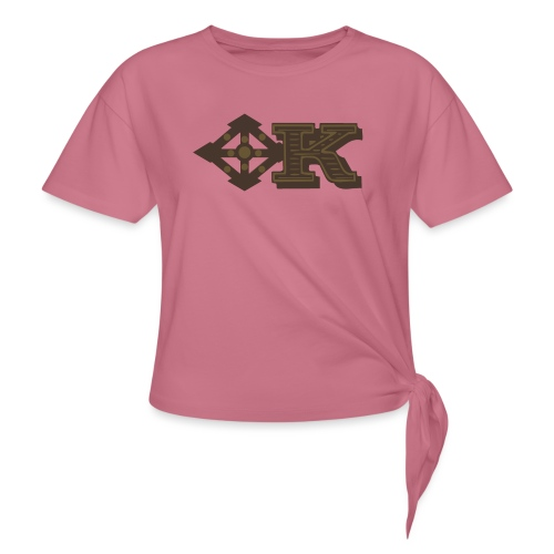 Kenya Airways Logo - Women's Knotted T-Shirt