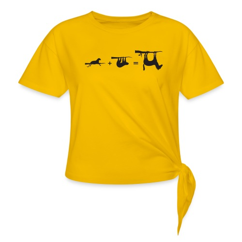 Lui paard Formule Luipaar - Geknoopt shirt