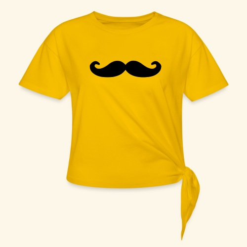 Loco Moustache - Vrouwen Geknoopt shirt