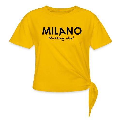 milano nothing else - Maglietta annodata