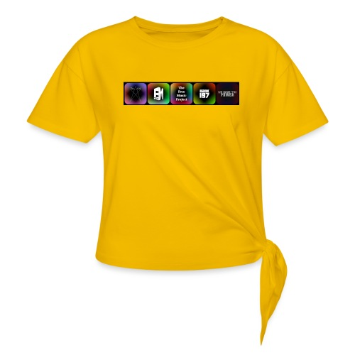 5 Logos - Women's Knotted T-Shirt