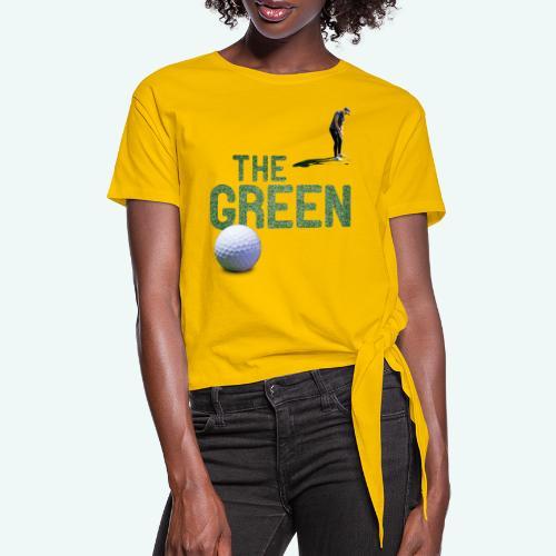 Golf - The Green - Frauen Knotenshirt