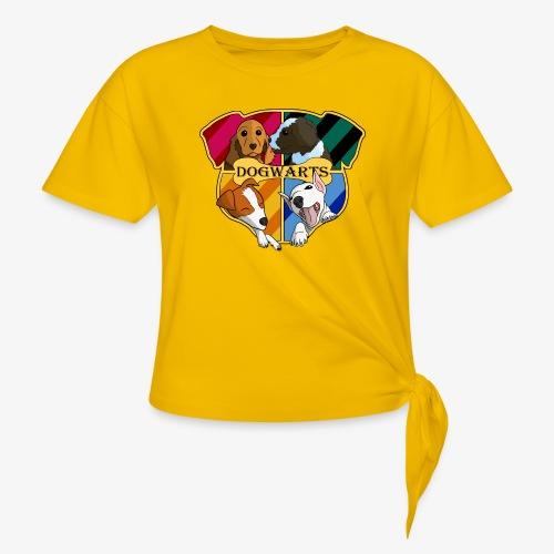 Dogwarts Logo - Women's Knotted T-Shirt