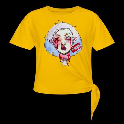Violence - T-shirt à nœud