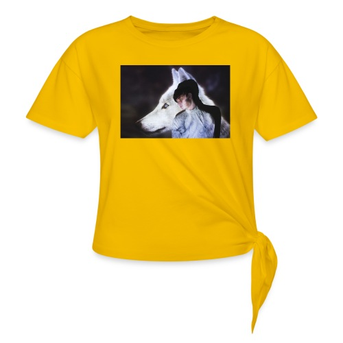 Wolfy - Knotted T-Shirt