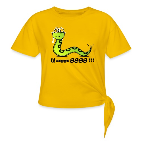 U zegge SSSS !!! - Vrouwen Geknoopt shirt