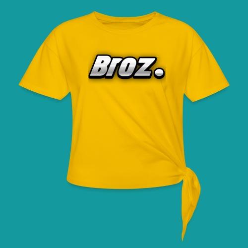 Broz. - Geknoopt shirt