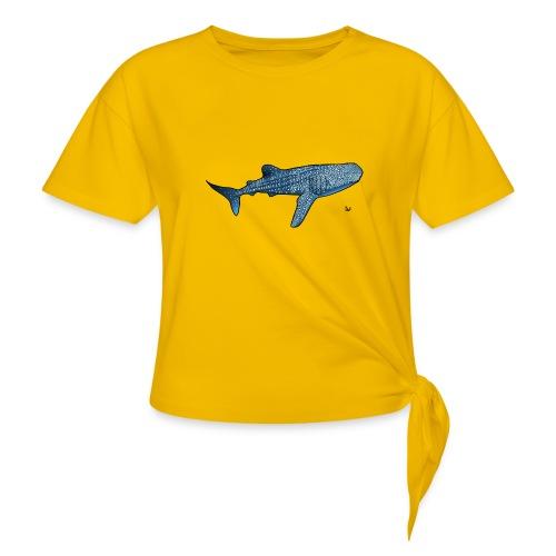 Whale shark - Maglietta annodata