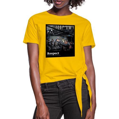 Respect - Frauen Knotenshirt