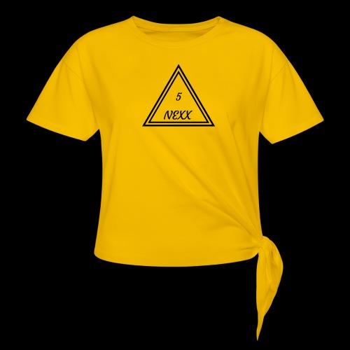5nexx triangle - Vrouwen Geknoopt shirt