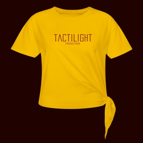 TACTILIGHT - Women's Knotted T-Shirt
