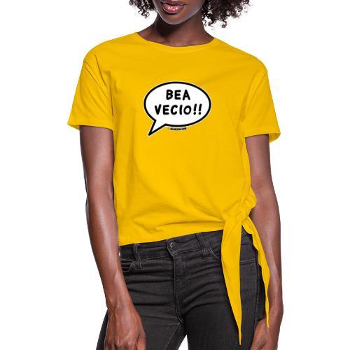 Bea Vecio Logo - Maglietta annodata da donna