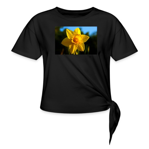 daffodil - Women's Knotted T-Shirt