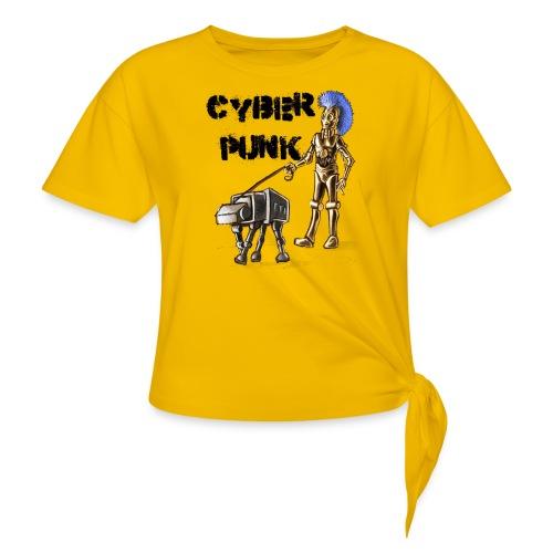 cyberpunk - Maglietta annodata