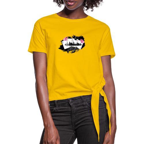 HHskyline - Frauen Knotenshirt