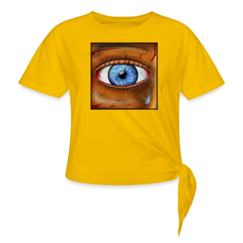 Hyperspace Potato Eye - Knotted T-Shirt