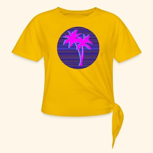Florida palmtree - T-shirt à nœud Femme