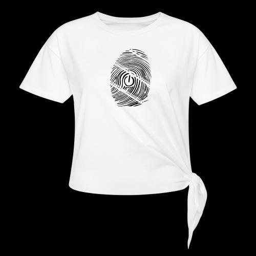 geek - T-shirt à nœud