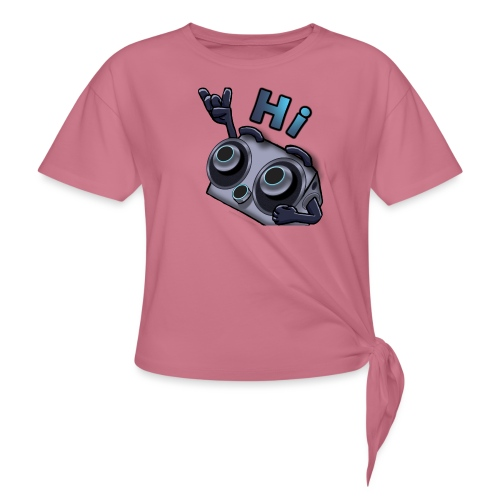 The DTS51 emote1 - Vrouwen Geknoopt shirt