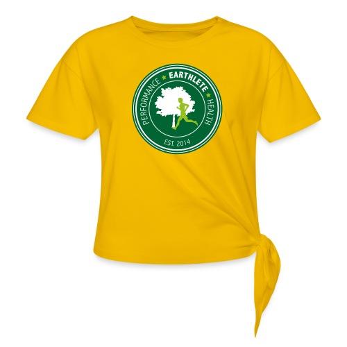 EARTHLETE Brand Logo - Dame knot-shirt