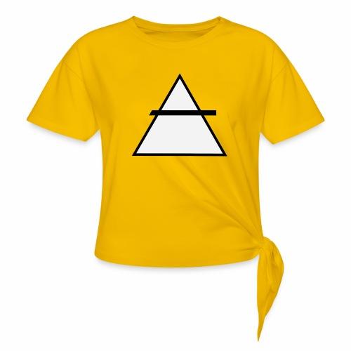 ALKIMASTA - T-shirt à nœud Femme
