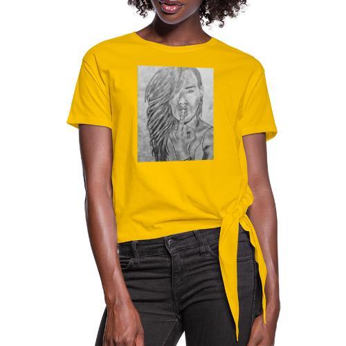 Jyrks_kunstdesign - Dame knot-shirt