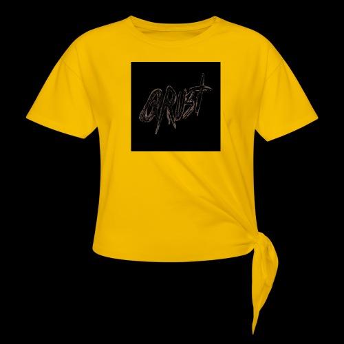 -Logo Qrust- - T-shirt à nœud