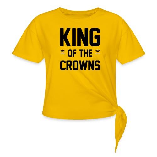 King of the crowns - Vrouwen Geknoopt shirt