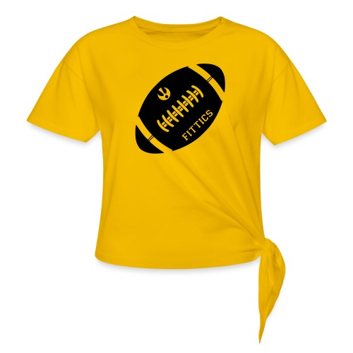 Fittics American Football - Knotted T-Shirt
