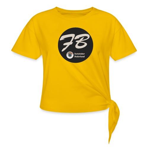 TSHIRT-INSTATUBER-NEDERLAND - Vrouwen Geknoopt shirt