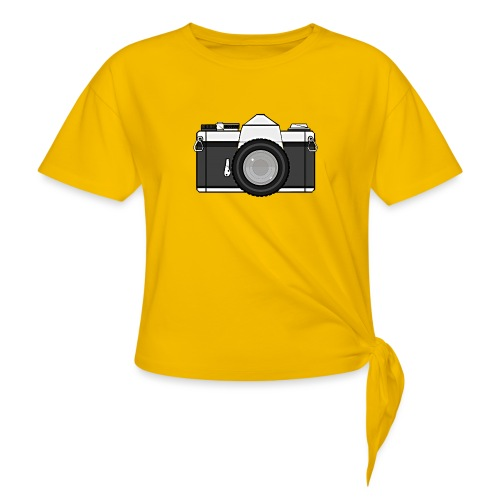Shot Your Photo - Maglietta annodata da donna