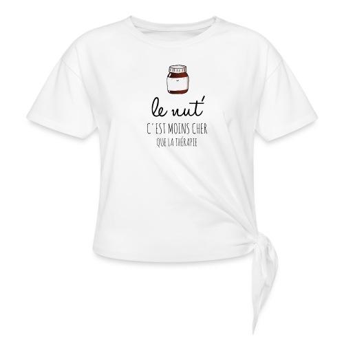 Le Nut' - T-shirt à nœud Femme