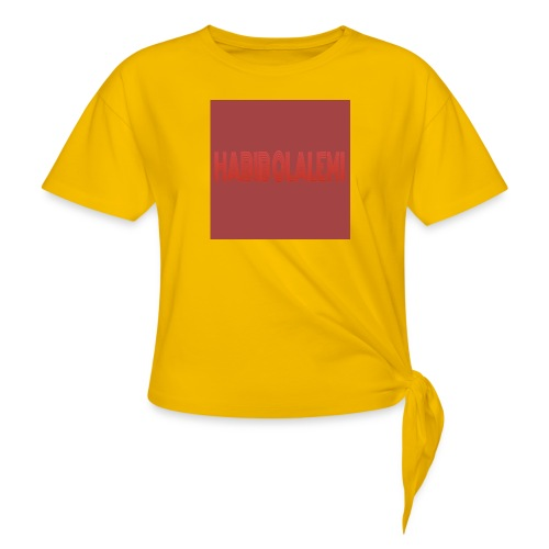 CHANNEL BANNER - Knotted T-Shirt
