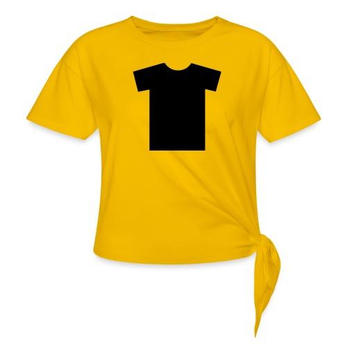 t shirt - T-shirt à nœud Femme