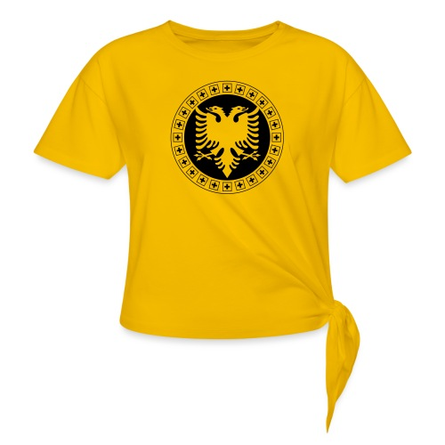 Albanien Schweiz Shirt - Knotenshirt