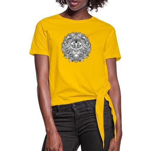 Sternzeichen Löwe - Knotenshirt