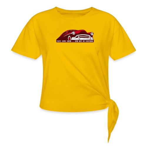 Kustom Car - Fast, Low, Loud ... And Out Of Contro - Knotenshirt