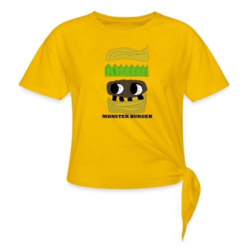 MONSTER BURGER - Knotenshirt