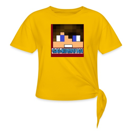 Gamerbryan custom picture - Knotted T-Shirt