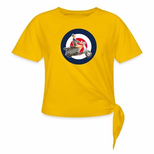 Scooter girl - T-shirt à nœud