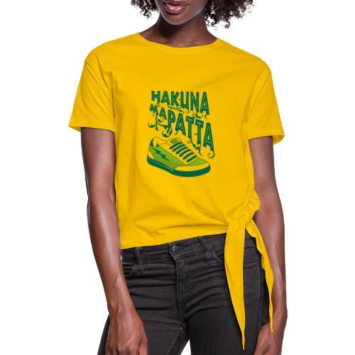 Hakuna maPatta - Vrouwen Geknoopt shirt