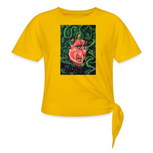MedusaMay - Maglietta annodata da donna
