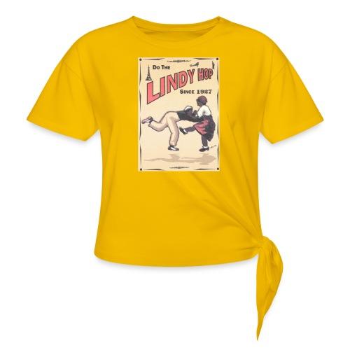 Do the Lindy Hop Since 1927 - T-shirt med knut dam