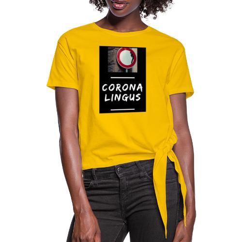 Corona Lingus - T-shirt à nœud Femme