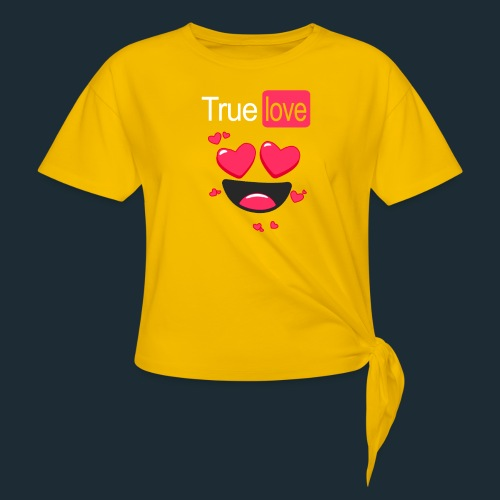 True Love Pink - Knotted T-Shirt