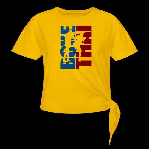 boxe thai - T-shirt à nœud