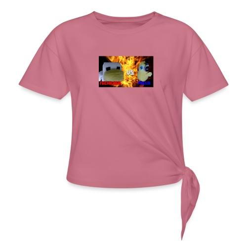 TGCHICKEN VS POLLO - Maglietta annodata da donna
