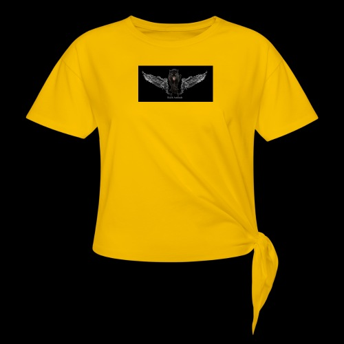 panthère ange - T-shirt à nœud