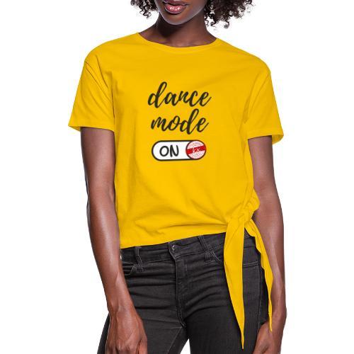 Shirt dance mode schw - Frauen Knotenshirt