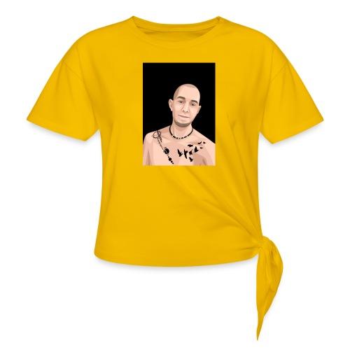 Justin Ahlberg Art - T-shirt med knut
